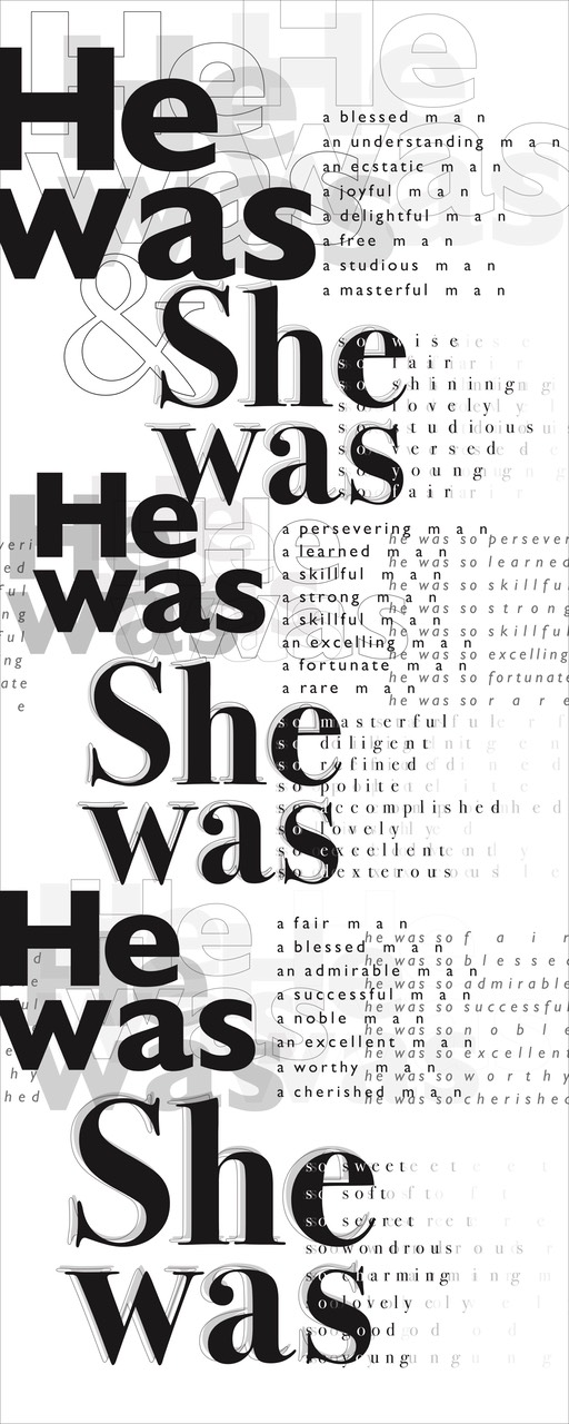 1 he was and she was